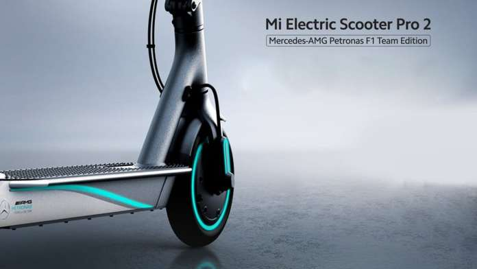 Mi Electric Scooter Pro 2 Mercedes Amg Petronas F1 Team Edition