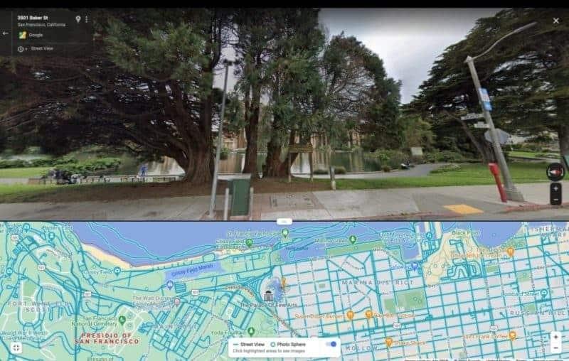 New Google Street View