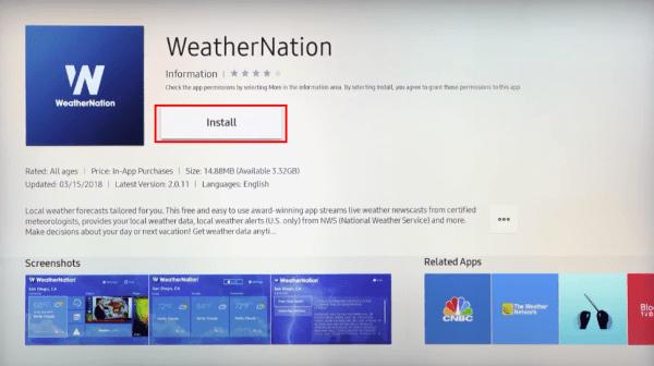 Install App Samsung Smart TV