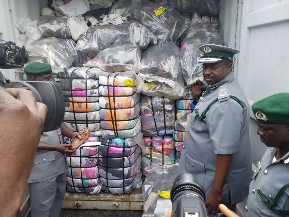 Banned Goods In Nigeria