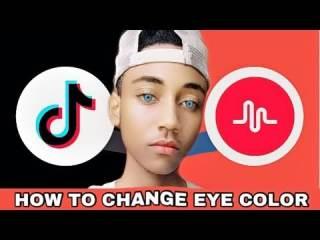 Change Eye Color In Tiktok Videos
