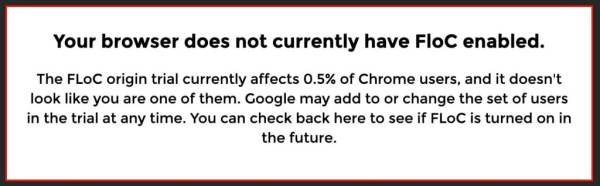 Eff Google Chrome Floc Website Check