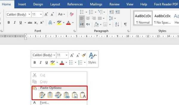 Move Excel To Word 002