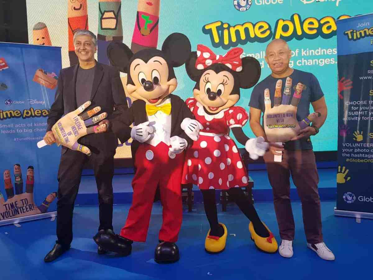 Time Please: Globe's new project is all about giving back