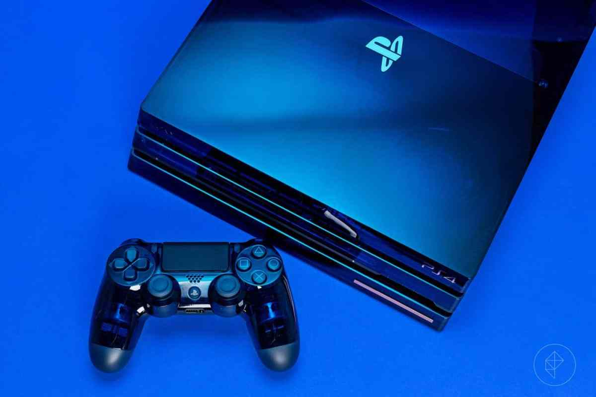 ps4 pro limited edition blue