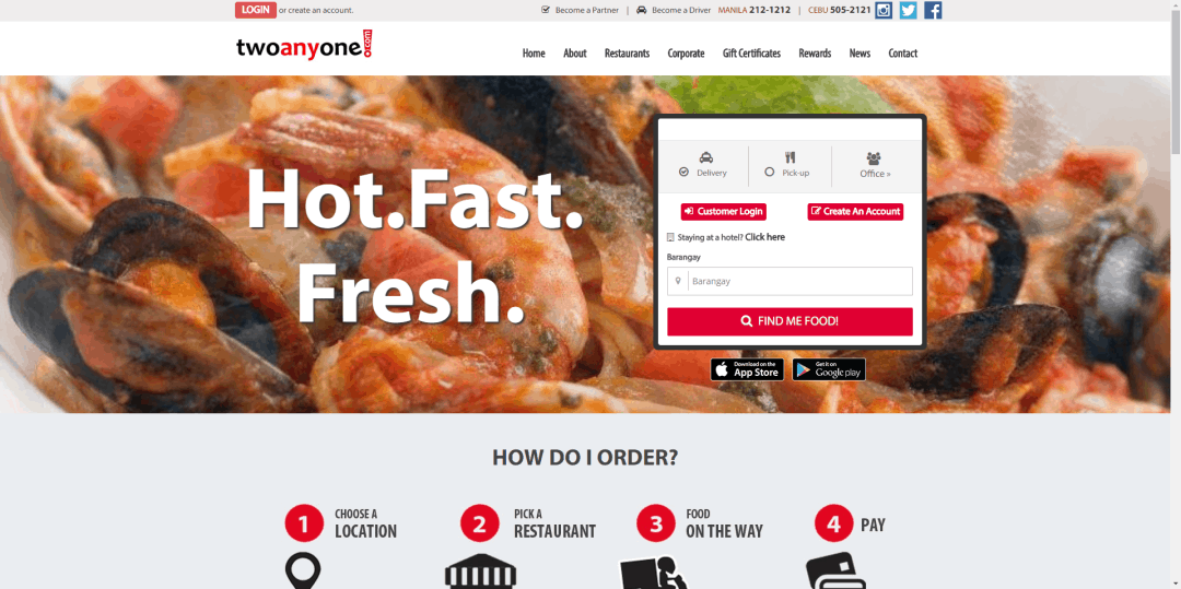 LISTED: 8 Best Food Delivery Apps in the Philippines (2018)