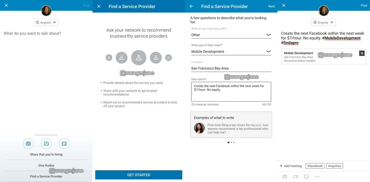 "LinkedIn ""Services"" Feature: Sell services on your LinkedIn profile"