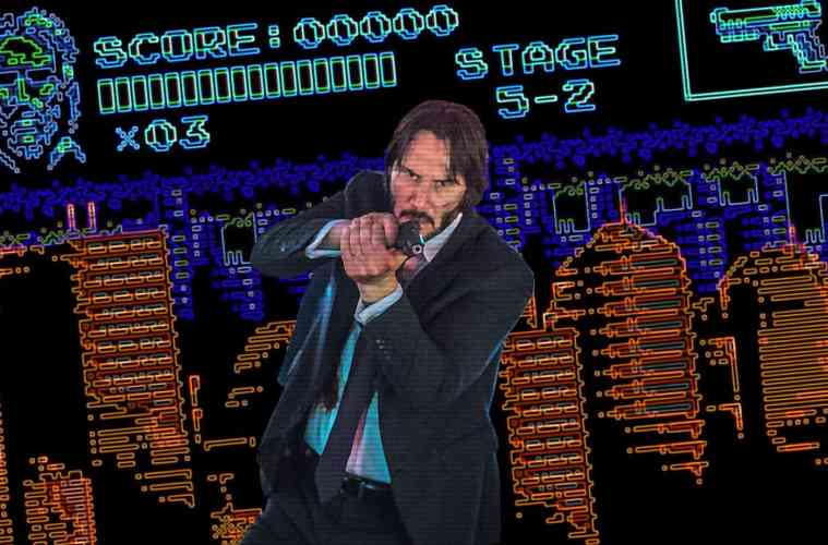 "WATCH: ""John Wick 3"" gets 8-bit treatment in fake NES game"
