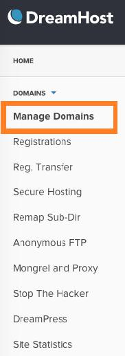 dreamhost domain Using DreamHost to Set up WordPress Blogs and Websites