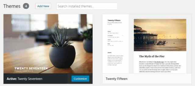 themes Using DreamHost to Set up WordPress Blogs and Websites
