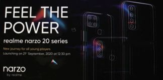Realme Narzo 20 Pro Narzo 20A Narzo 20 Launching on September 21