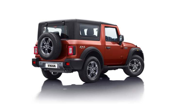 First Mahindra Thar To Be Auctioned – Online Registration Starts