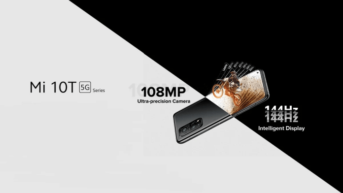 Mi 10T and Mi 10T Pro release date in India is set for November 3