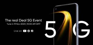 Realme 7 5G will be launched on November 19