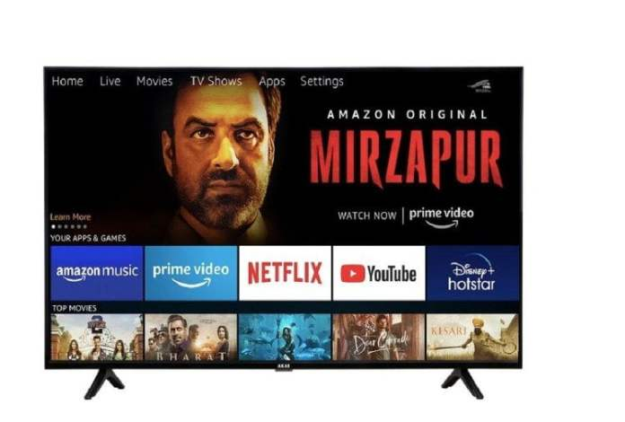 Akai 43-inch full-HD Fire TV Edition television has been launched in India