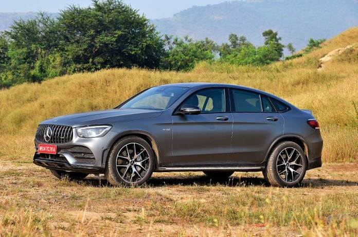 Mercedes-AMG GLC 43 4MATIC Coupe facelift has launched in India