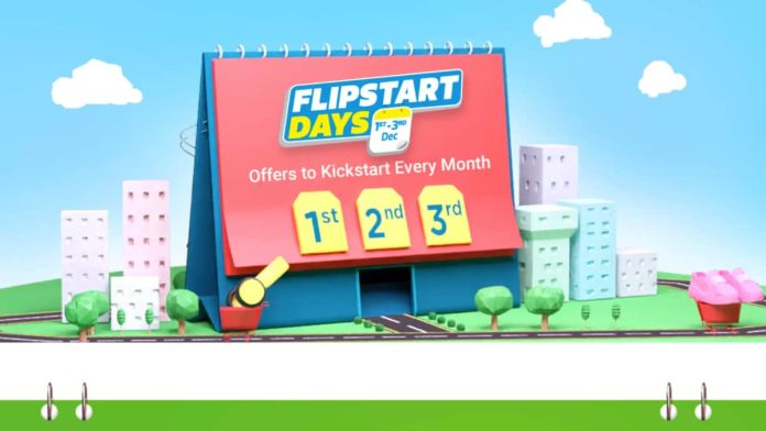 Flipkart Flipstart Days sale is now live and will go on till December 3