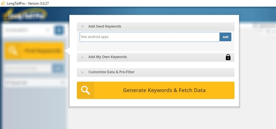 Find Profitable Keywords Using LongTailPro Profitable Keyword Research Technique