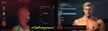 Comparison between Cyberpunk and Saints Row