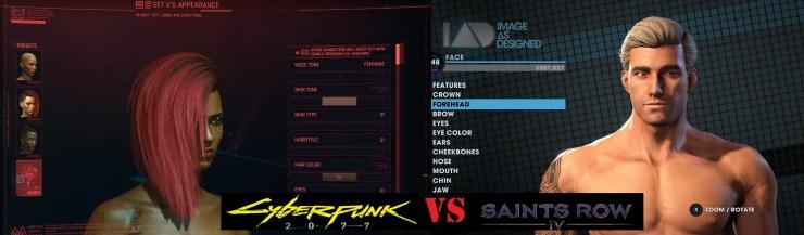 Comparison between Cyberpunk and Saints Row