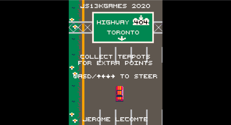 Highway 404 game