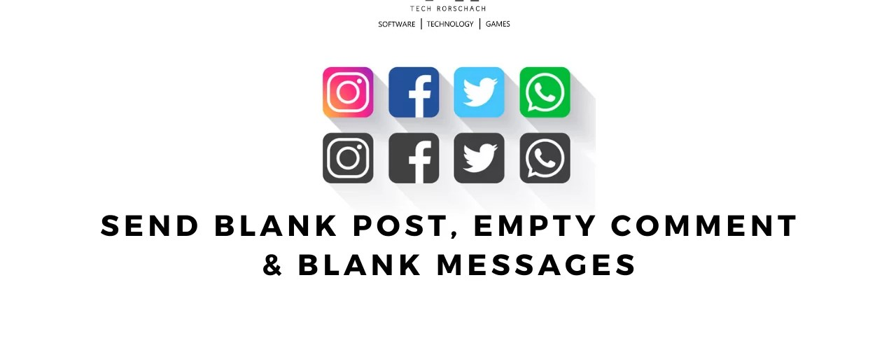 How to Make Blank Comment and Posts on Instagram/Facebook