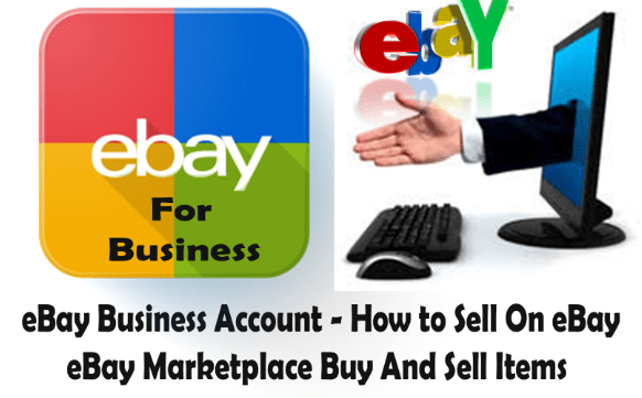 eBay business account