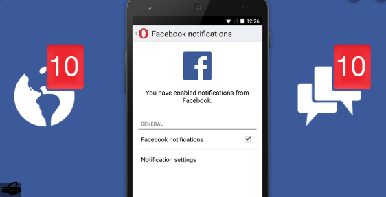 Facebook Notification
