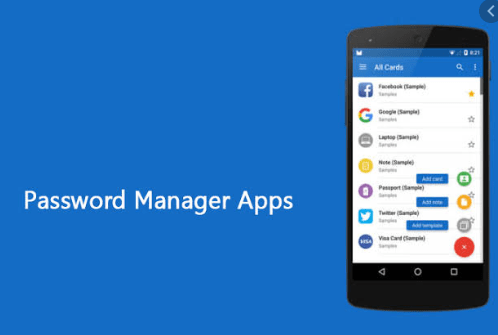 Password manager app
