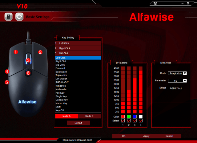 Alfawise V10 Software 002