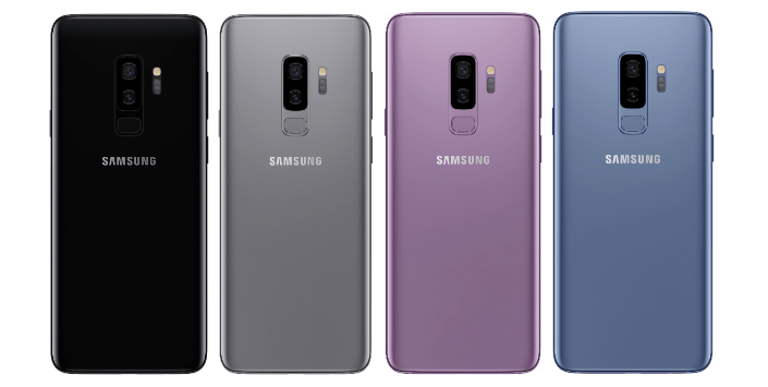 Samsung Galaxy S9+ Colors
