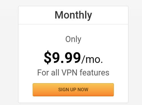 PIA VPN Pricing monthly