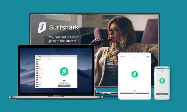 SurfShark multi device support