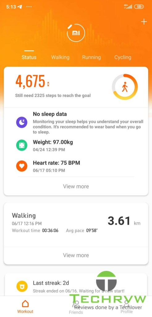 Xiaomi Mi Band 4 Software 0012