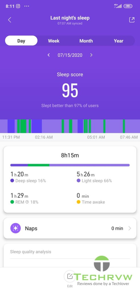 Xiaomi Mi Band 5 Software 0011