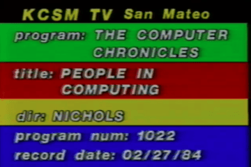 computer chronicles computer entrepreneurs