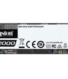 Kingston PCIe SSD