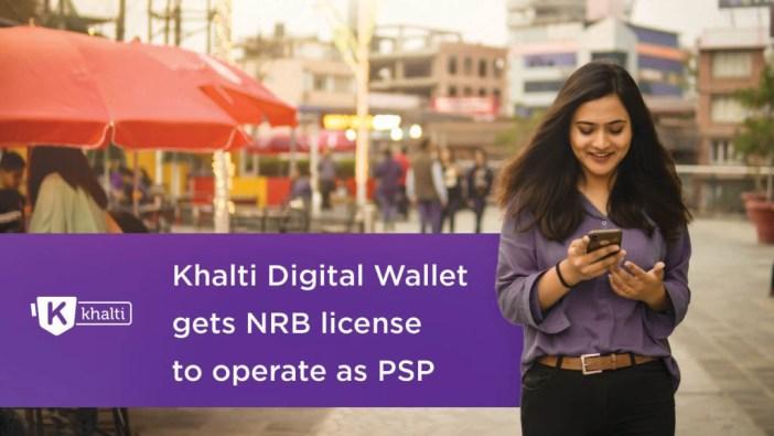 Khalti gets Payment Service Provider License