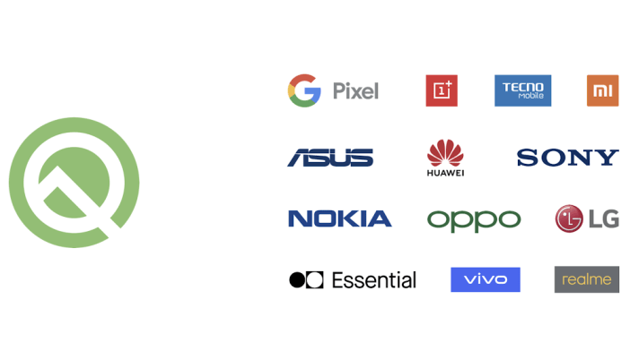 Android Q Beta Eligible Devices