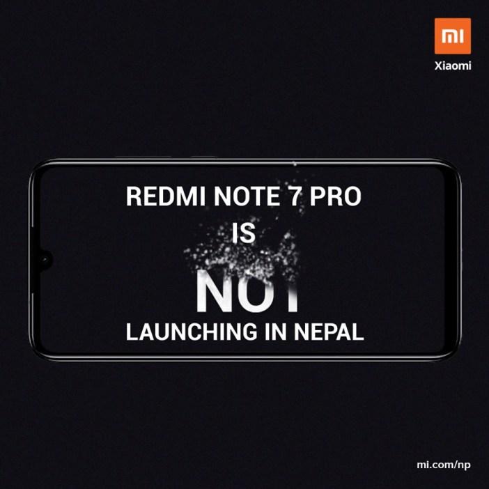 Redmi Note 7 Pro Nepal