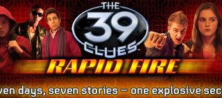 39 Clues: Rapid Fire eBook Series Begins 12/25 (giveaway)