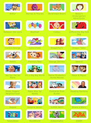 Website Of The Week PBS Kids