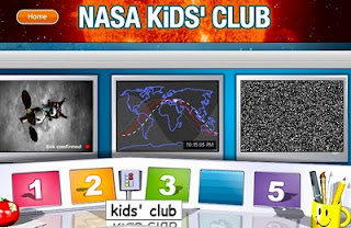 NASA Kids' Club Reinforces Science, Math, Technology in Fun Kid-Friendly Way