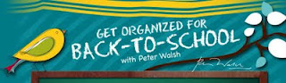 Clean Sweep's Peter Walsh Says Back to School Organization is Important for Child AND Family