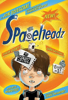 Jon Scieszka's Spaceheadz Engages Readers in Print and Online (giveaway)