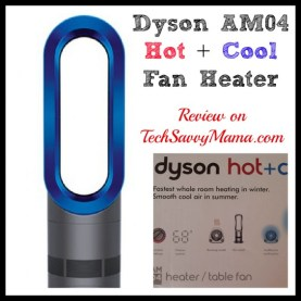 Dyson ACM4 Hot+Cool TechSavvyMama.com