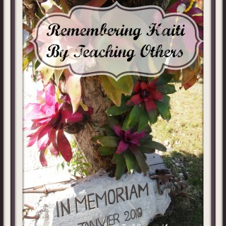 Remembering Haiti by Teaching Others