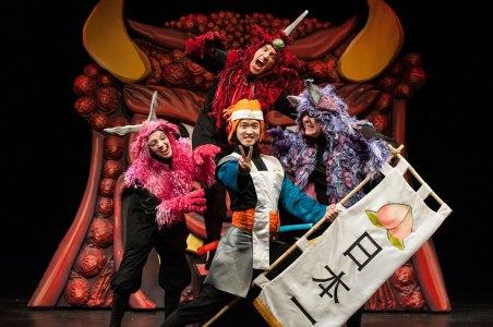 02 Momotaro & Ogres AnimeMomotaro IStage