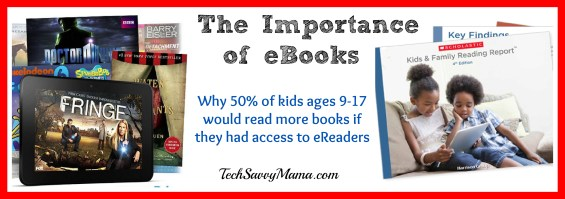 Research about kids and eBooks TechSavvyMama.com