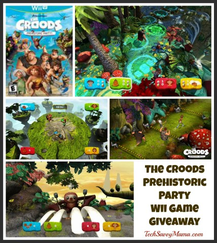 The Croods Prehistoric Party for Wii TechSavvyMama.com